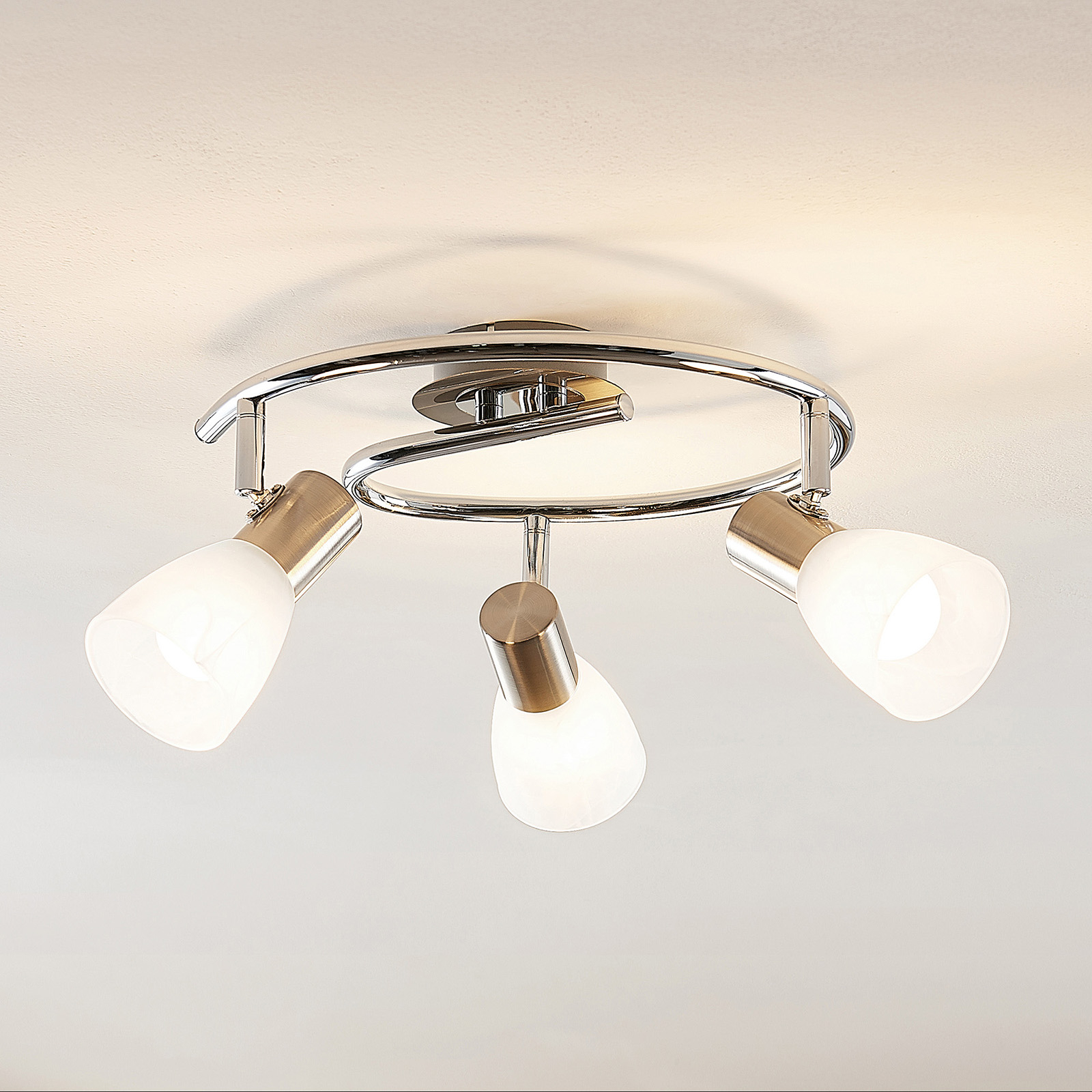 ELC Kamiran LED-Deckenstrahler, dreiflammig