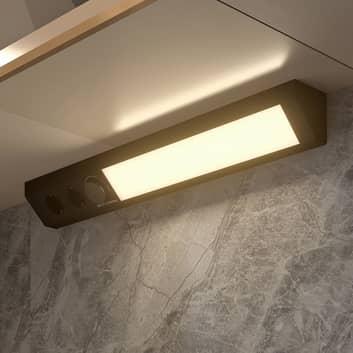 Arcchio Asira -LED-kaapinalusvalaisin, CCT, musta