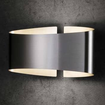 Holtkötter Voilà LED-Wandleuchte, edelstahl