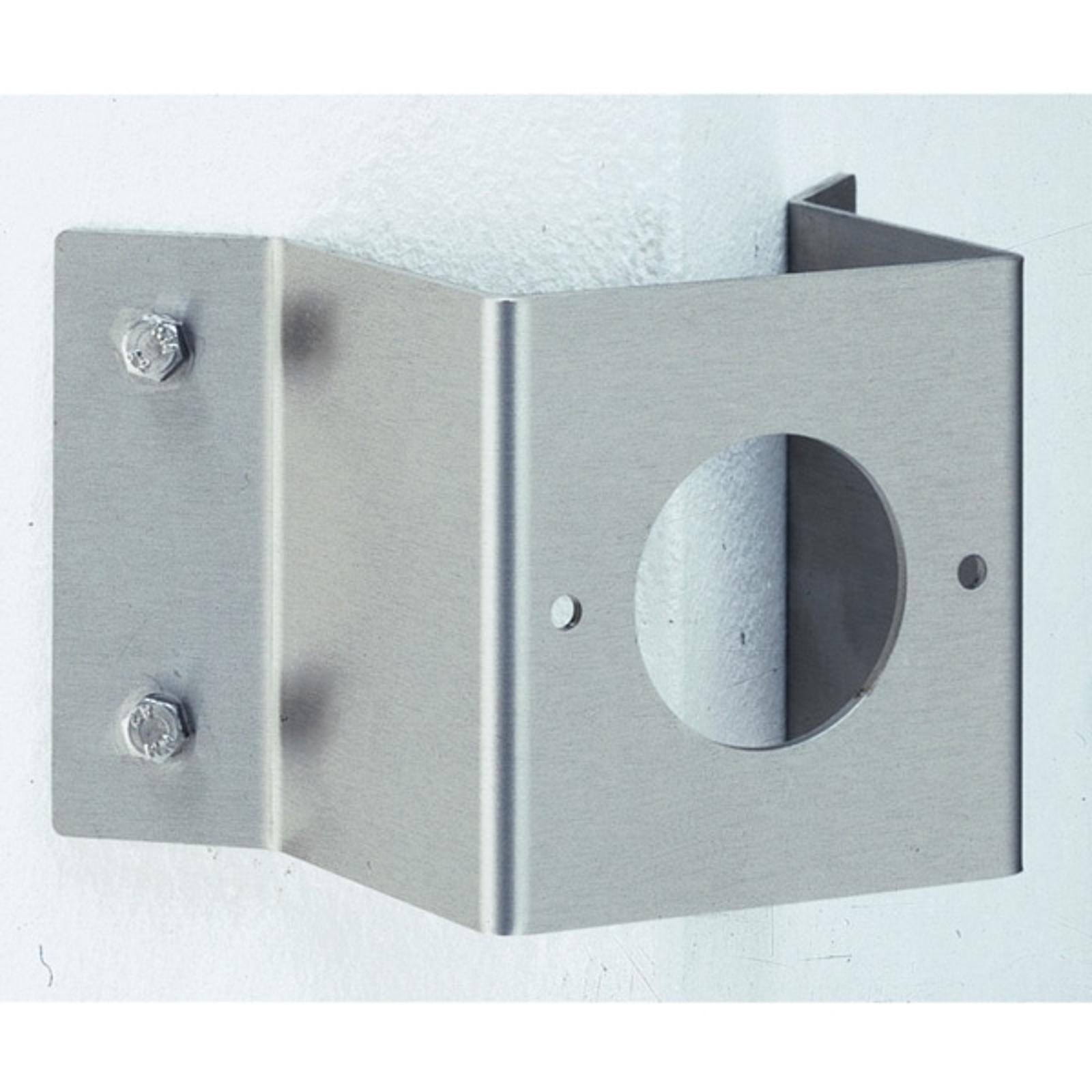 Eckwandhalter für Außenwandleuchten, eckig, 8,5 cm