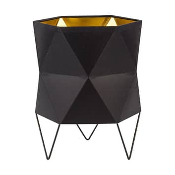 Bordslampa Siro svart/guld