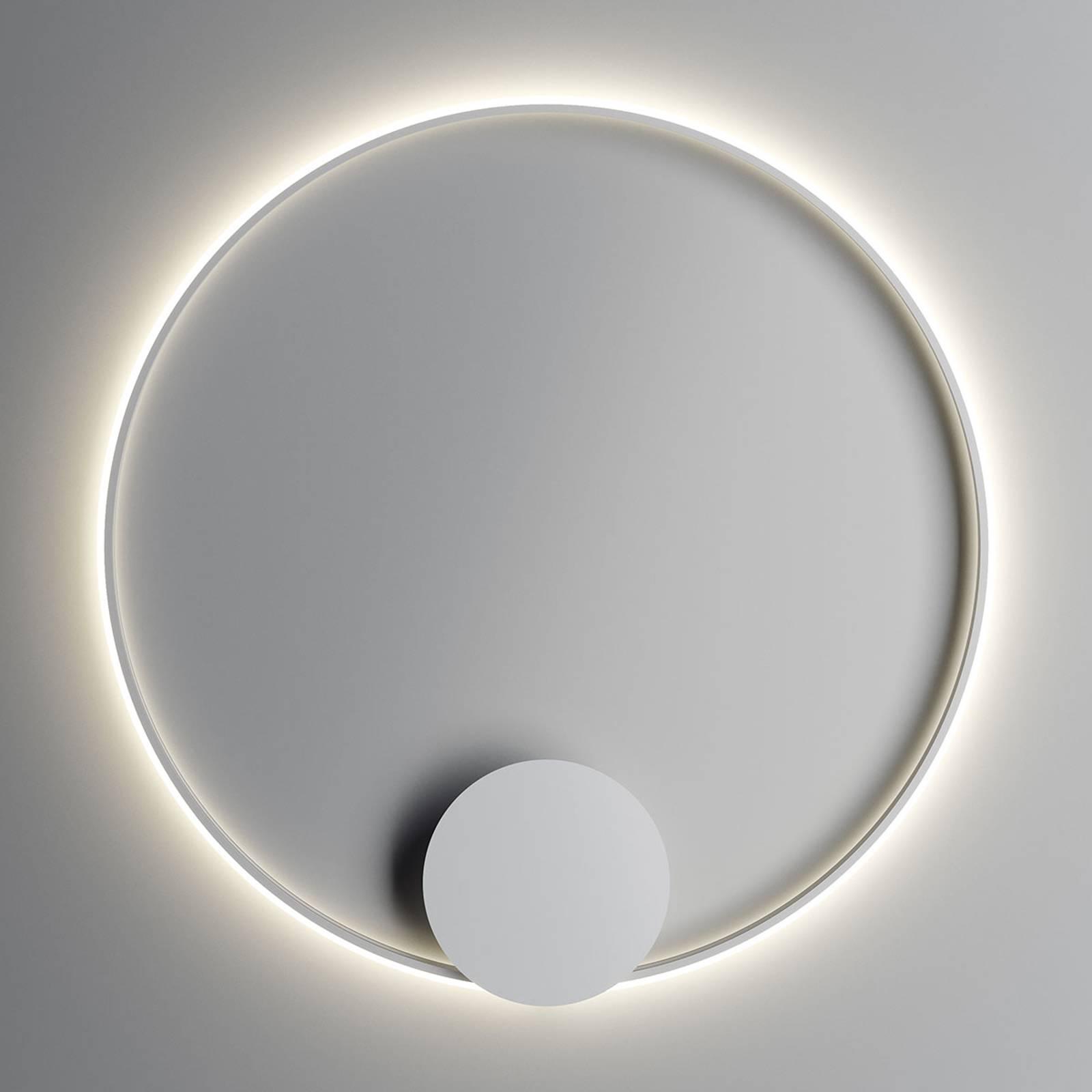 Fabbian Olympic LED-Wandleuchte Ø 110 cm weiß