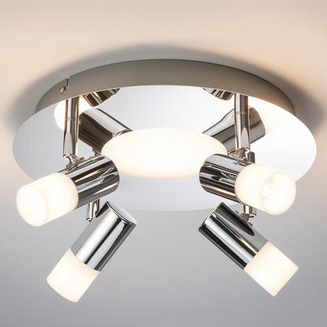 Paulmann Lagoon plafondlamp, chroom, 4-lamps