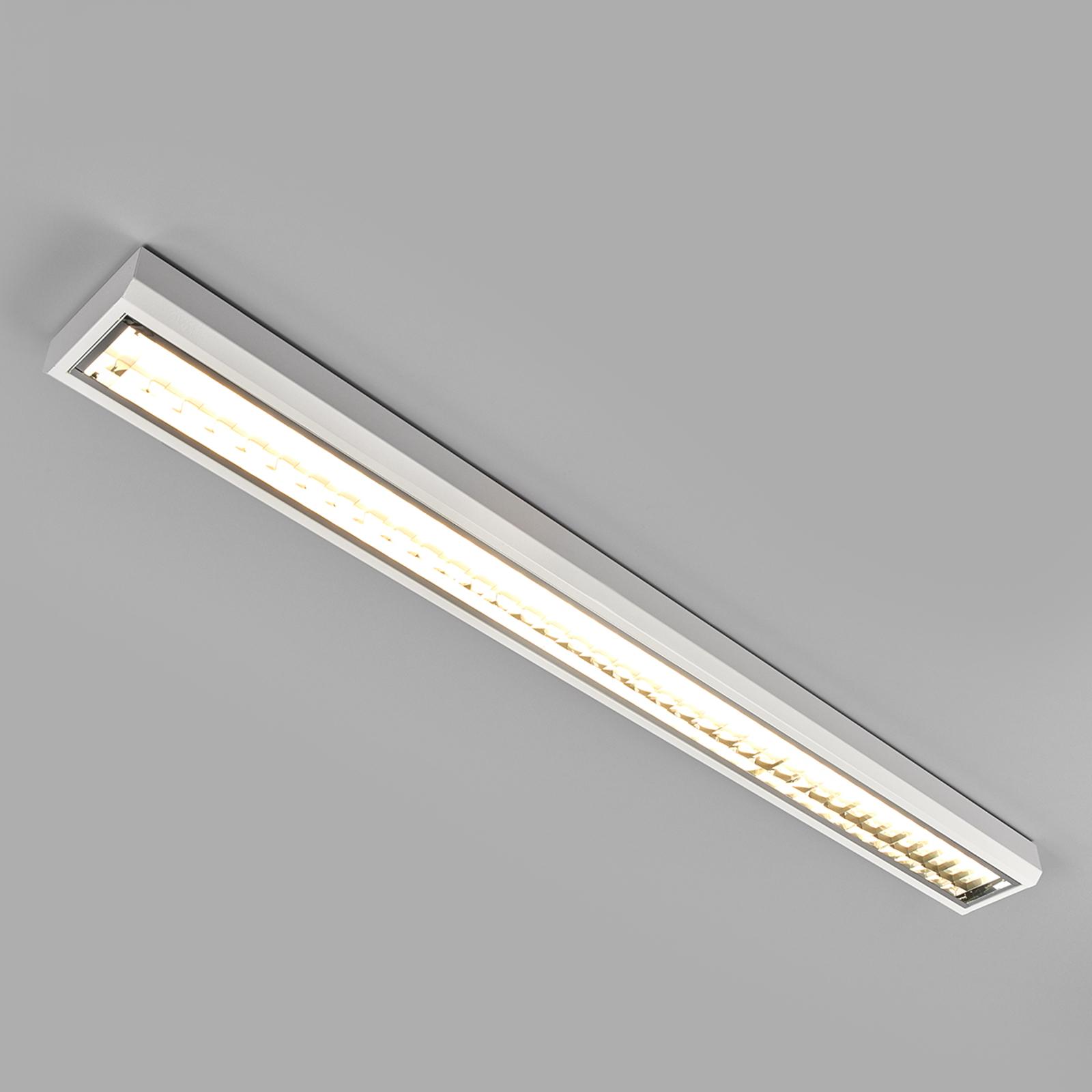 LED-gitter påbygningsarmatur t. kontor, 33W,4.000K