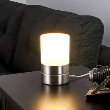 SEVDA - lampa stołowa LED w kształcie cylindra