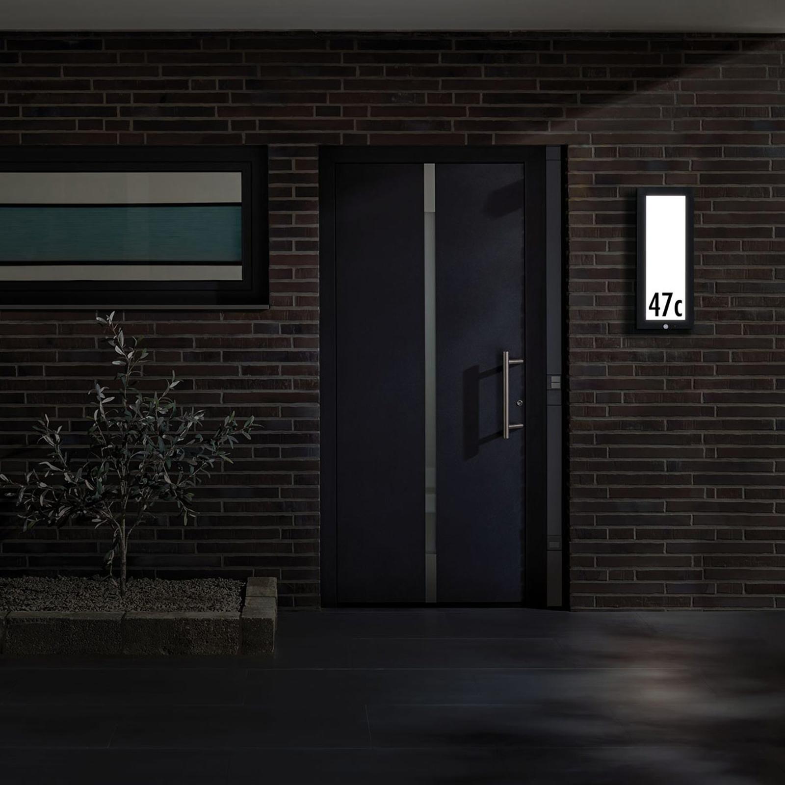 Paulmann Außenwandlampe Panel m. Sensor 25x60 cm