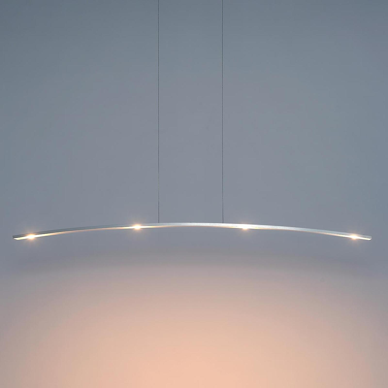Bopp Change - geradlinig designte LED-Hängeleuchte