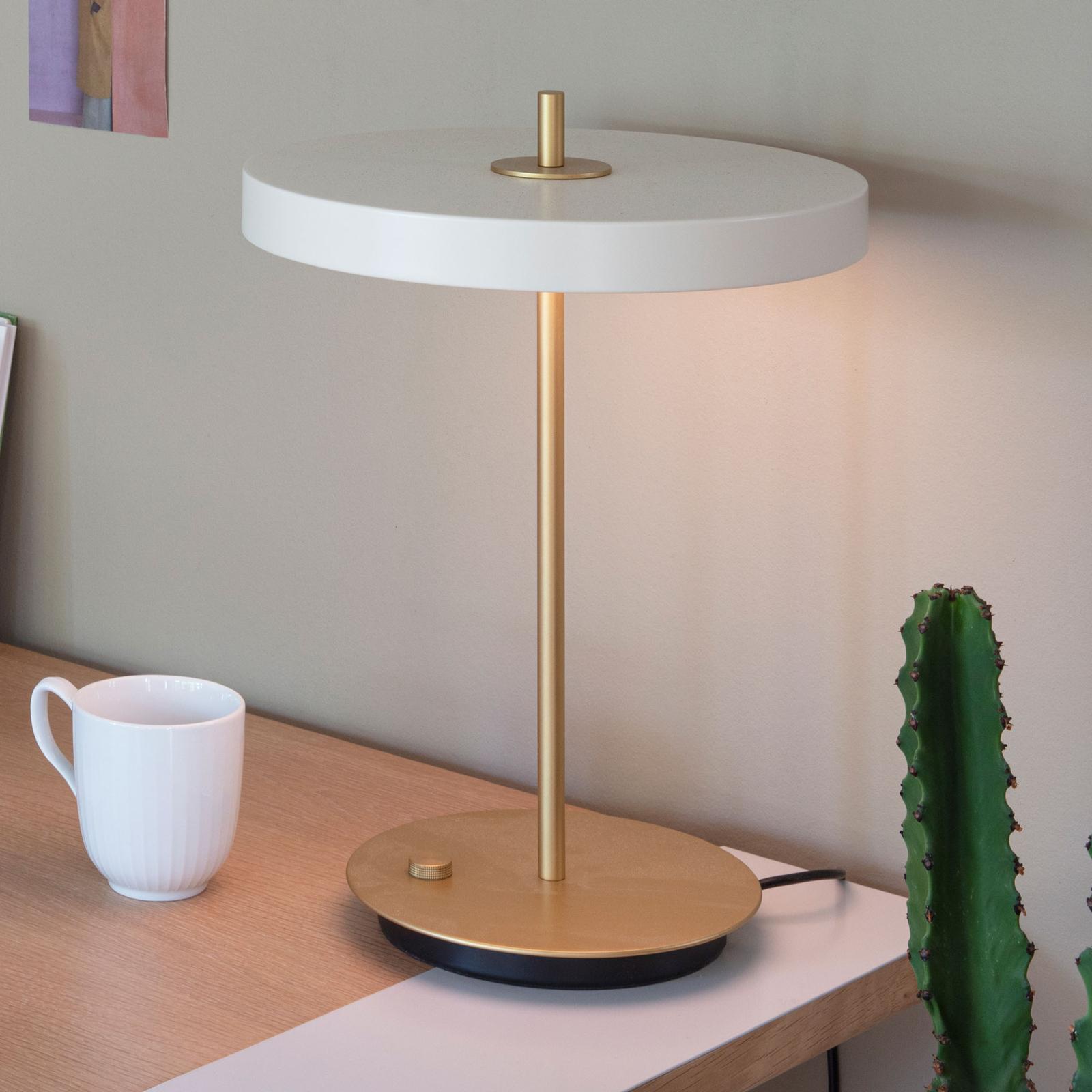 UMAGE Asteria table LED-bordlampe, USB, perlehvid