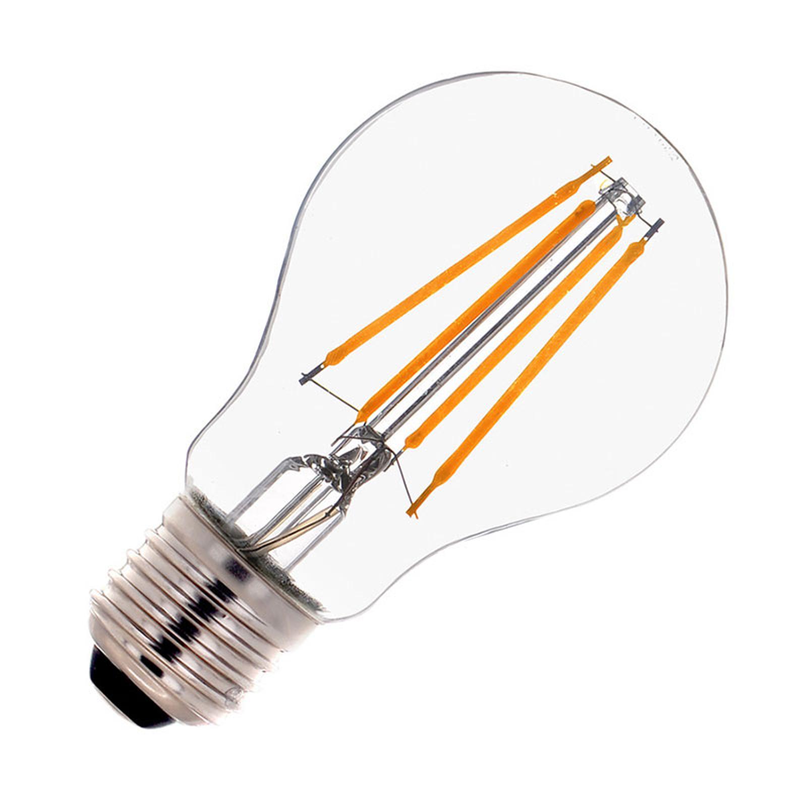SLV LED-pære E27 A60 Filament 7 W 2700K dimbar