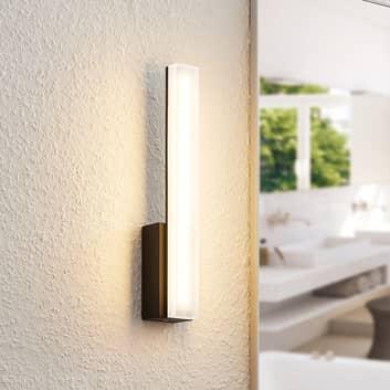 Lucande Lisana -LED-seinävalaisin IP44, pystysuora