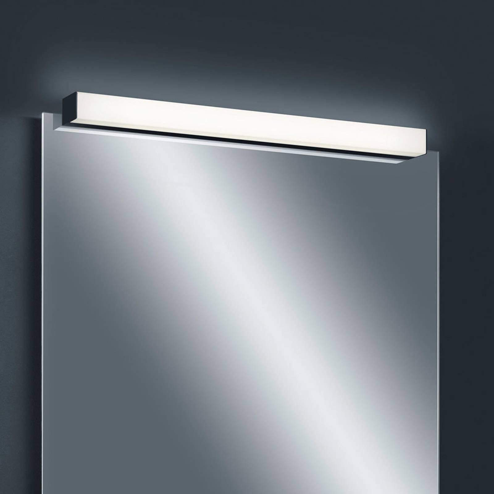 Helestra Lado applique miroir LED noire 120cm