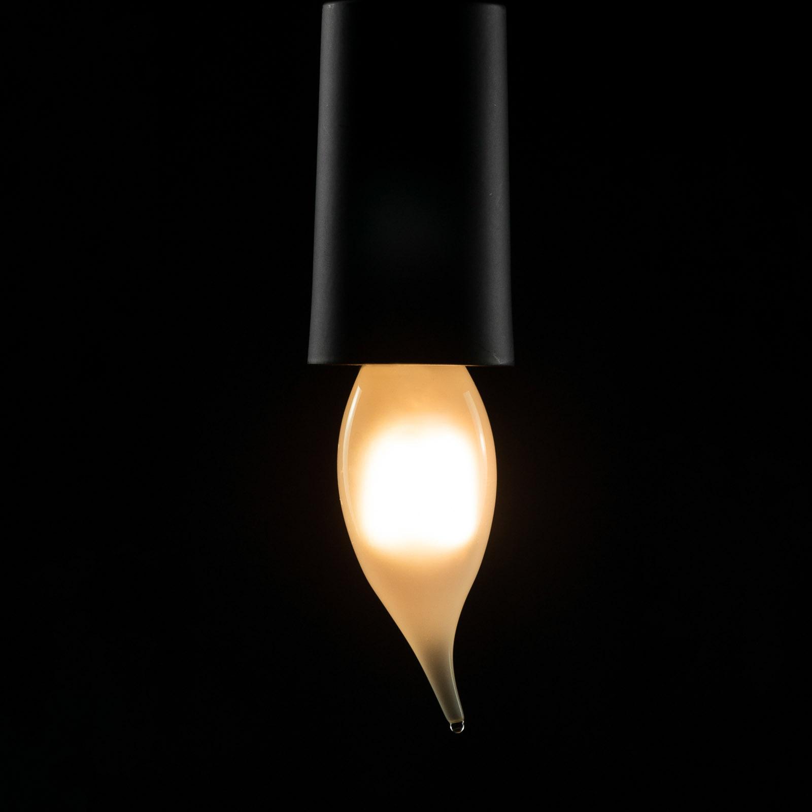 SEGULA LED-Kerzenlampe E14 2,7W Ambient Line matt