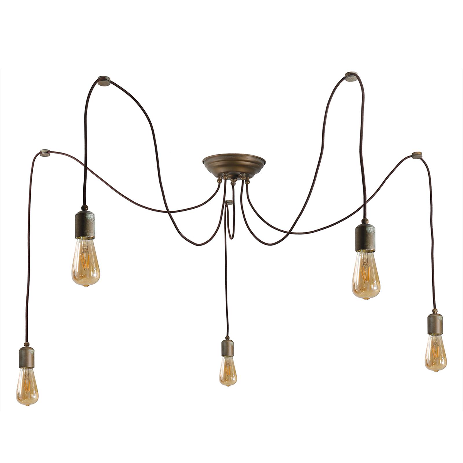 Suspension Allen à 5 lampes