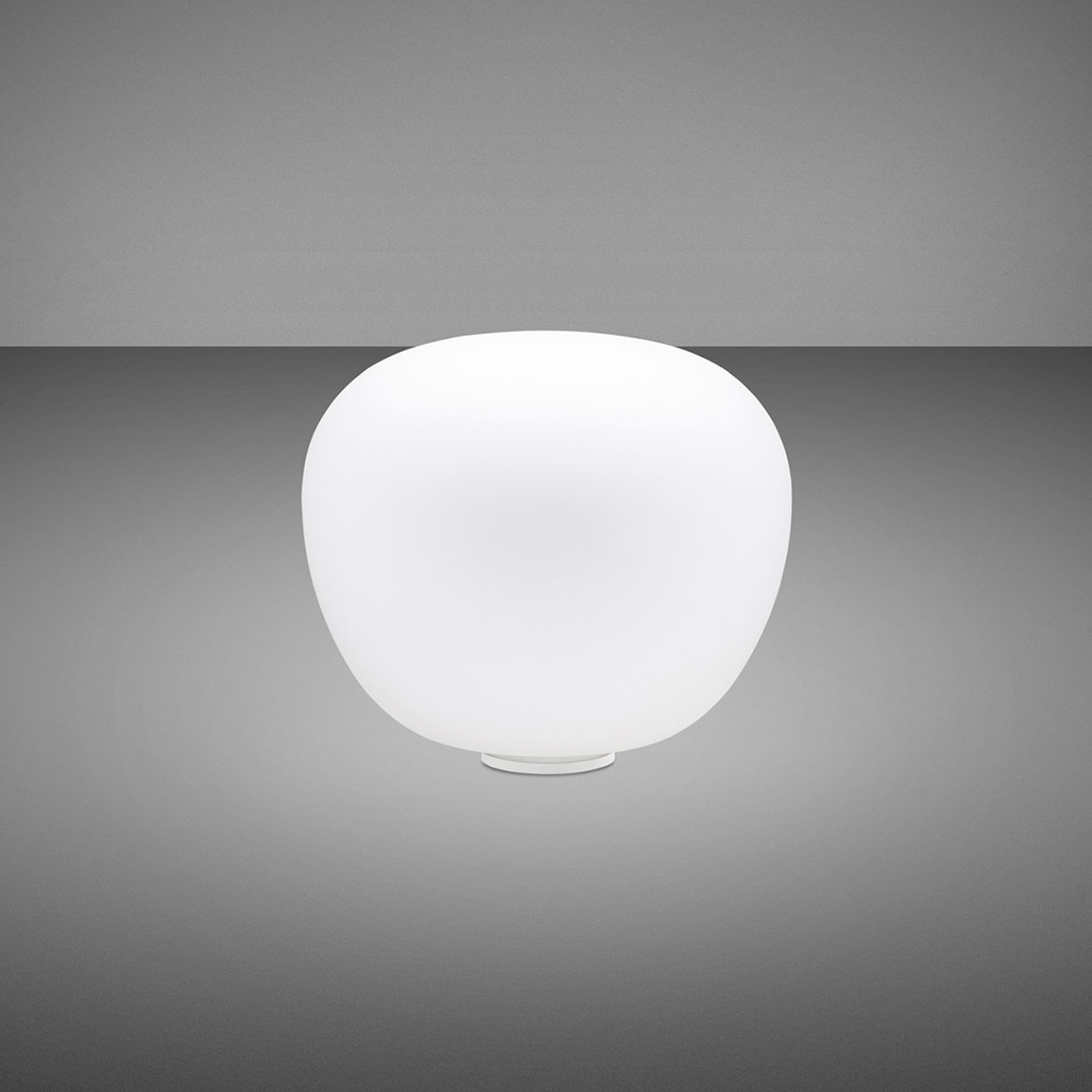Fabbian Lumi Mochi lampe à poser, couchée, Ø 20cm