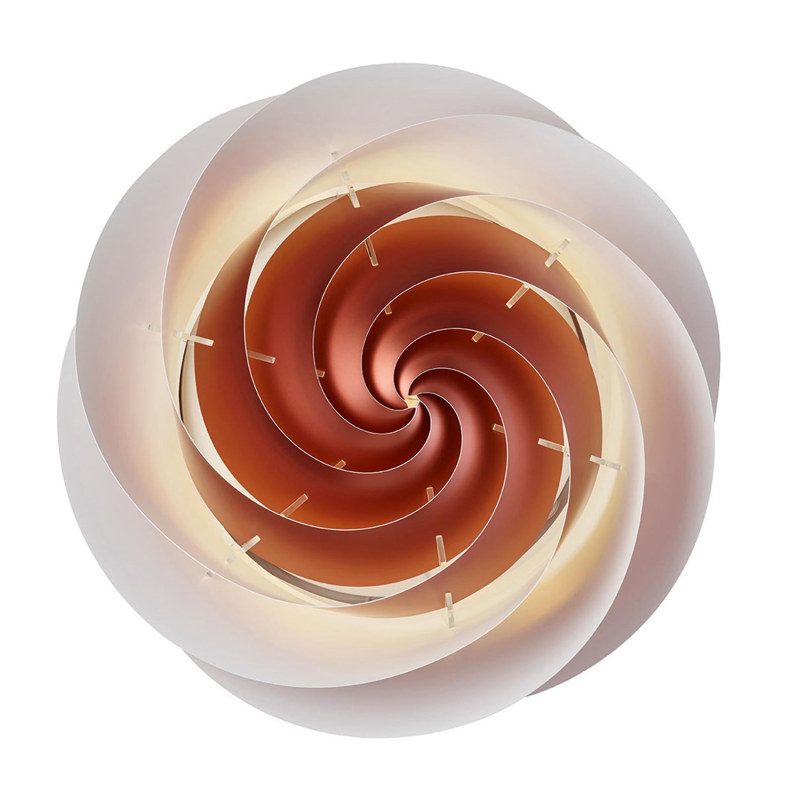 LE KLINT Swirl Large měděné nástěnné světlo