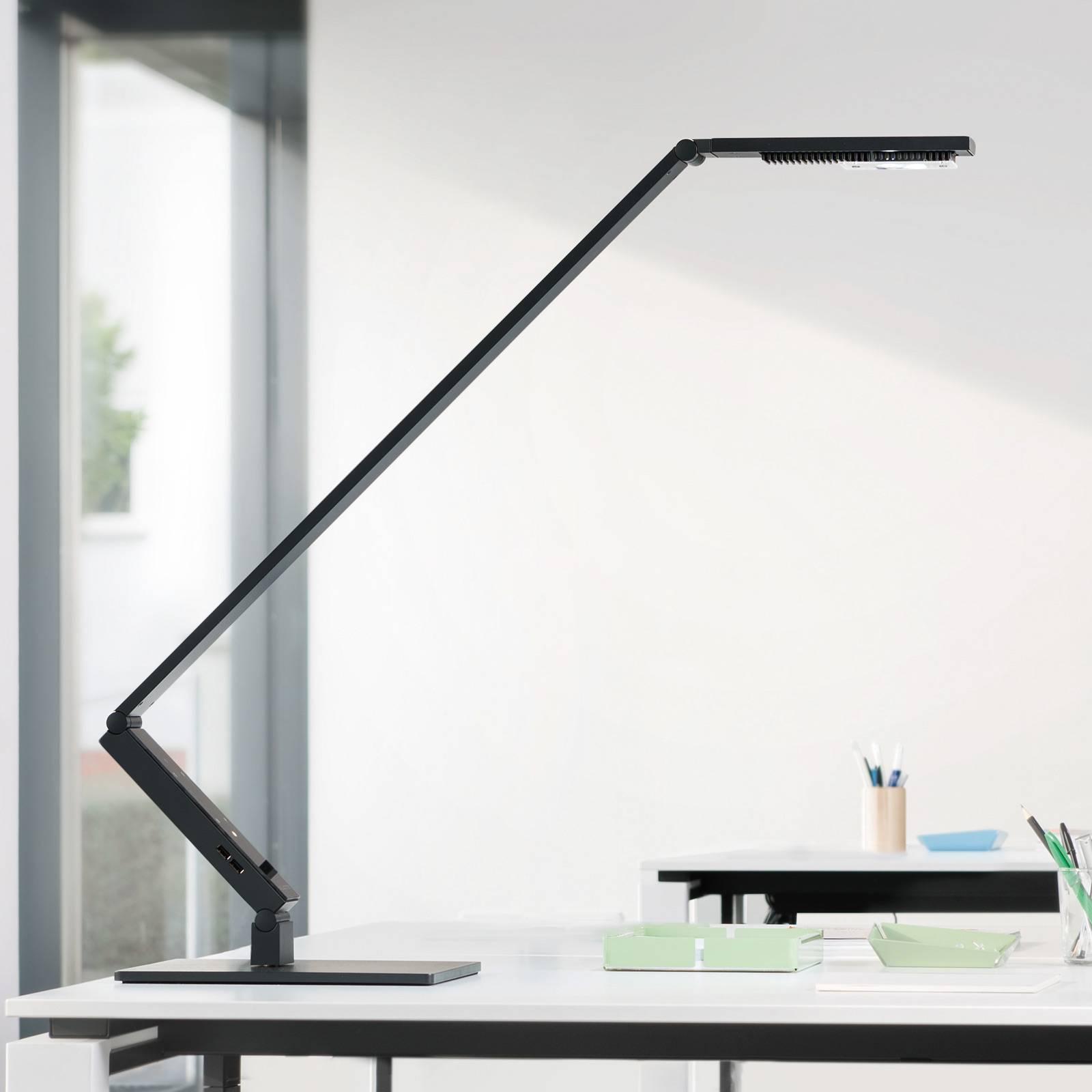Luctra TableProLinear LED-Tischleuchte Fuß schwarz