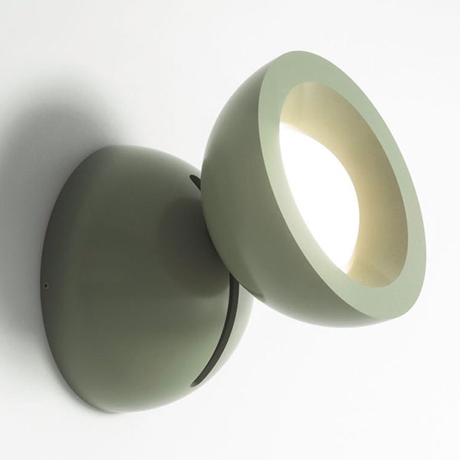 Axolight DoDot applique LED, verte 15°