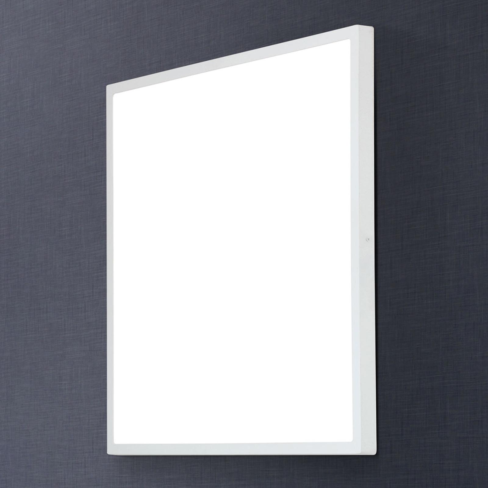 Hoekige LED plafondlamp Lero 60 x 60 cm