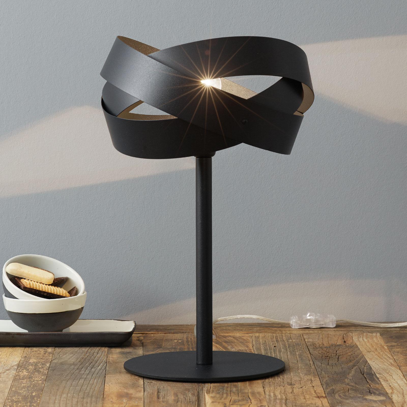 Dekoracyjna lampa stołowa Tornado