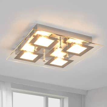 Kvadratisk LED-kökslampa Manja
