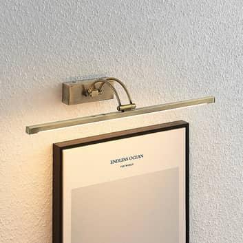 Lucande Felena oświetlenie obrazów LED, mosiądz