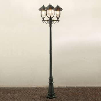 Romanttinen kolmilamppuinen kynttelikkö PARMA