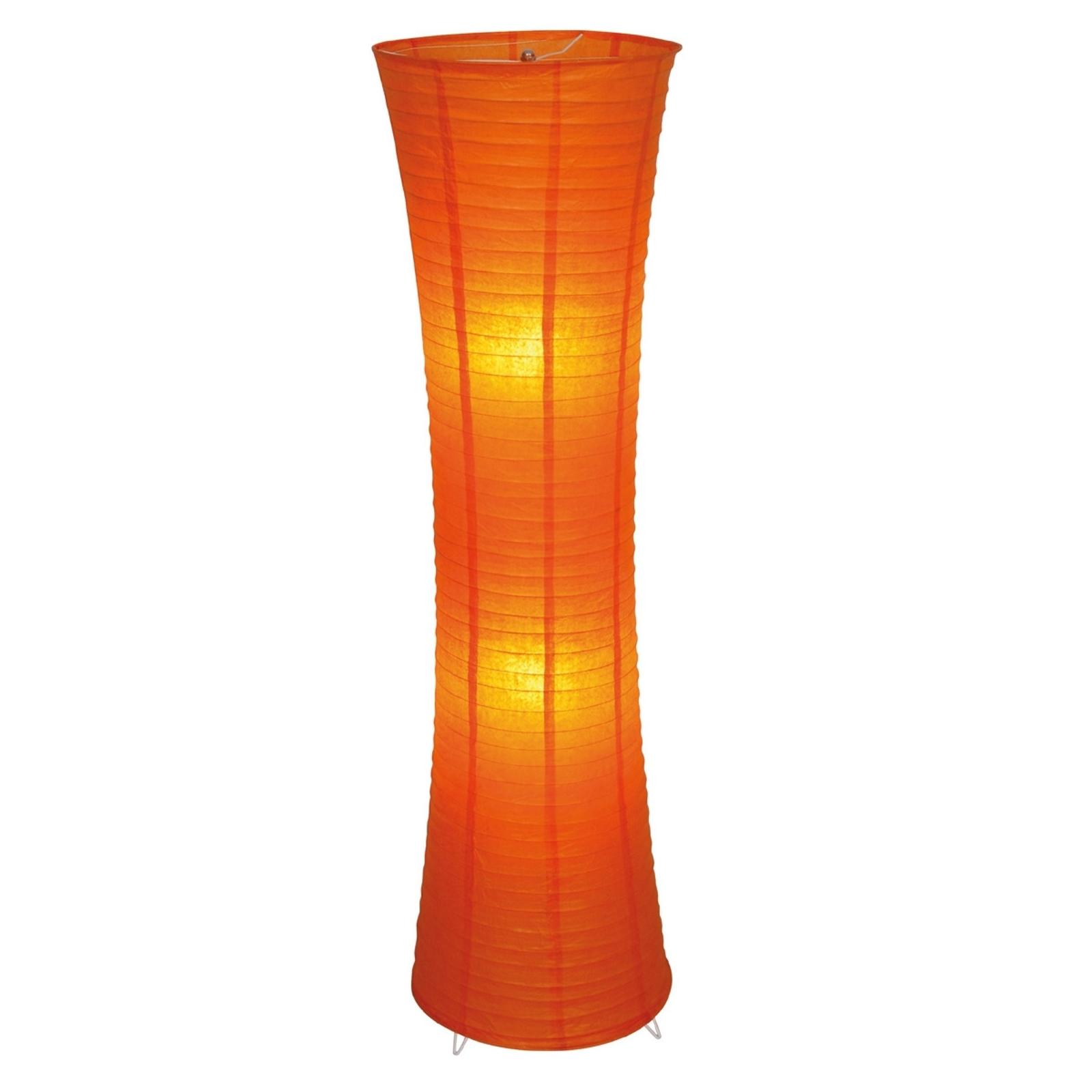 Gulvlampe Taiyo i orange