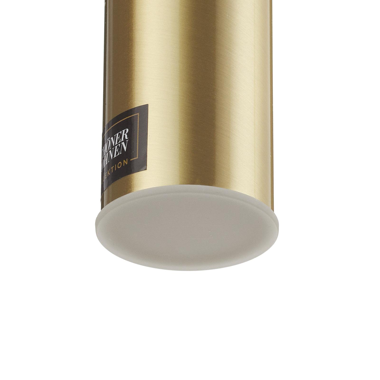 Mooier wonen Stina LED hanglamp, 1-lamp goud