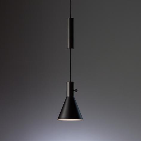 TECNOLUMEN Eleu - LED-Pendelleuchte, schwarz matt