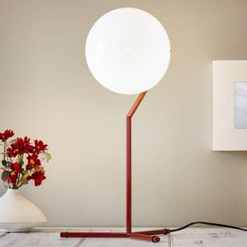 FLOS IC T1 High bordlampe bordeauxrød