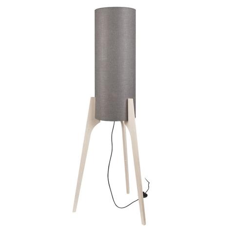 Lampadaire Neo M avec trépied en bois