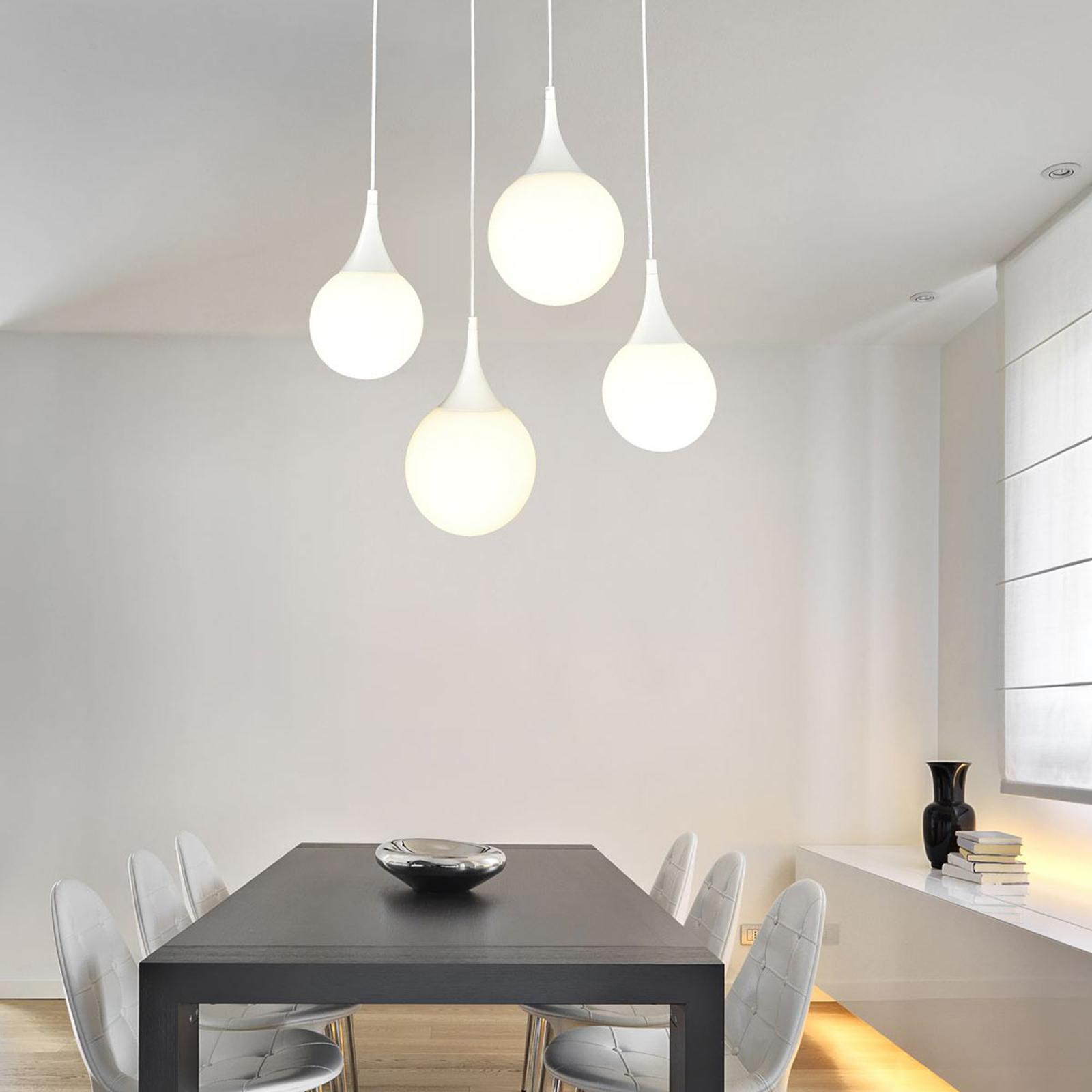 Dewdrop - przepiękna szklana lampa wisząca