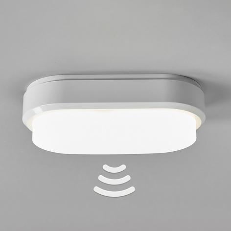 Bulkhead - oval LED-taklampe med sensor