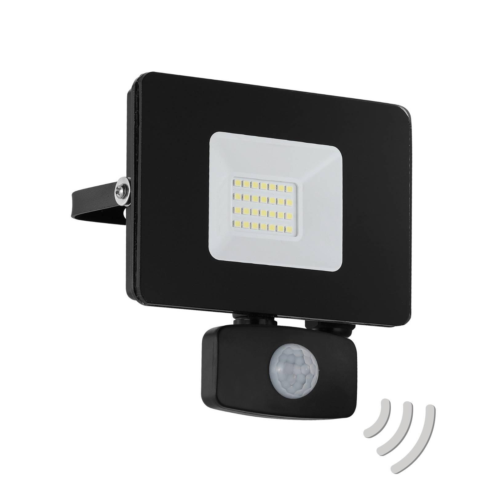 Reflektor zewnętrzny LED Faedo 3 z czujnikiem, 20W
