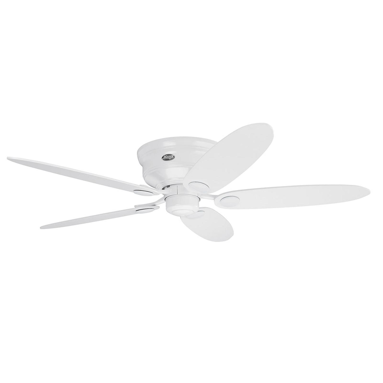 Hunter Low Profile III ventilateur blanc/érable