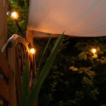 SEGULA LED-lampe golfball E27 2 W klar stødfast