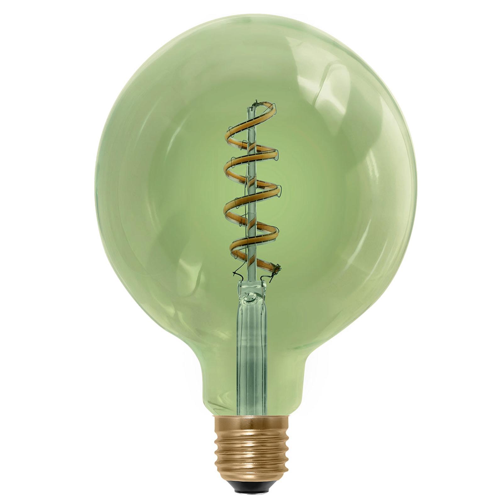 E27 6 W 920 LED-globepære smokey green