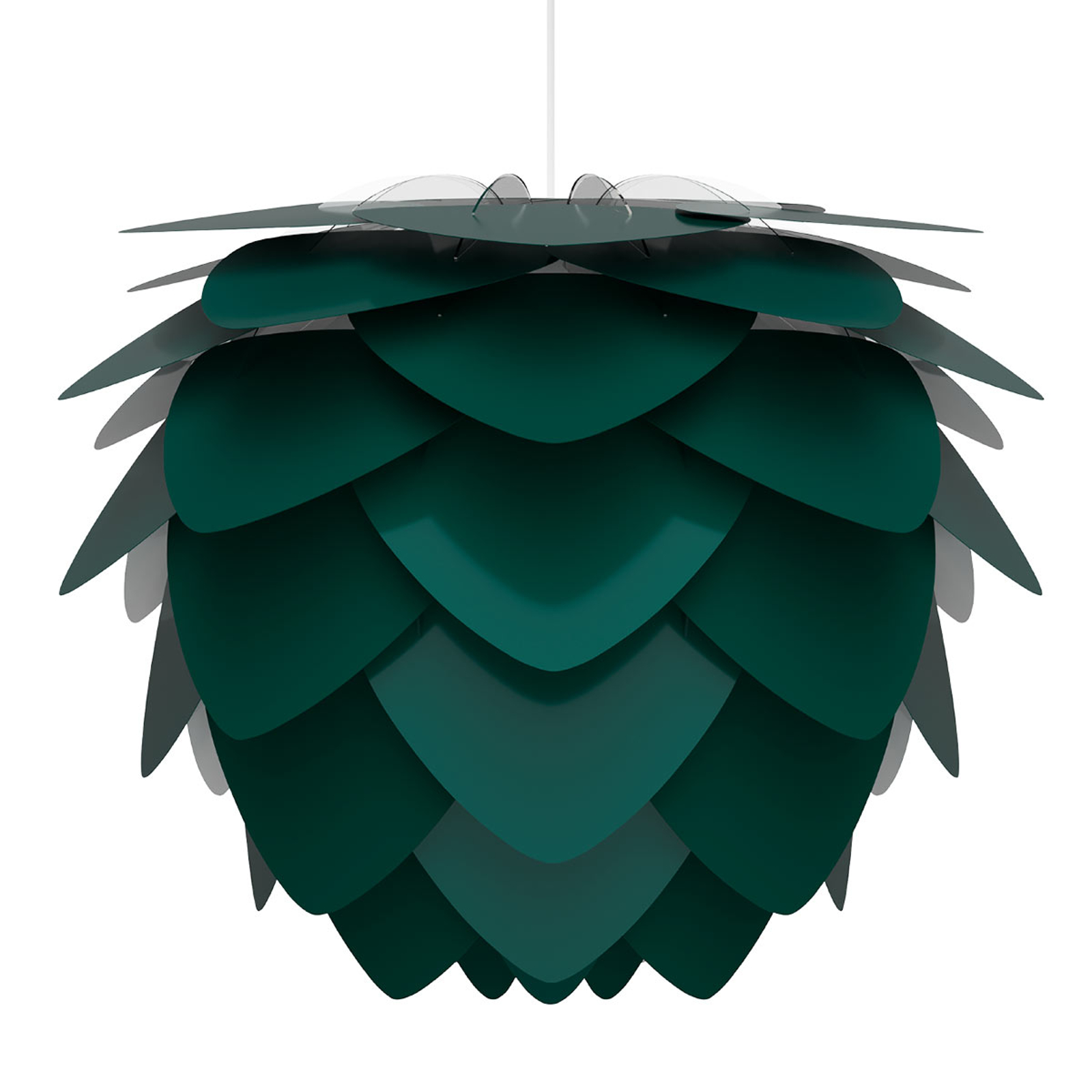 UMAGE Aluvia medium lampa wisząca zielona