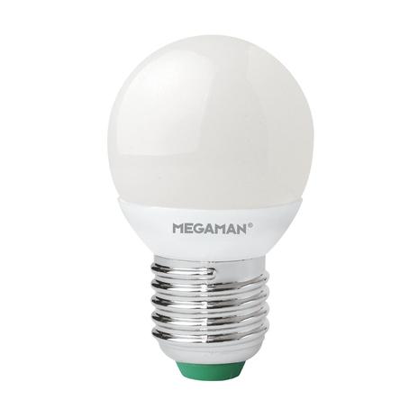 E27 3,5W żarówka kropla LED matowa, 2800K