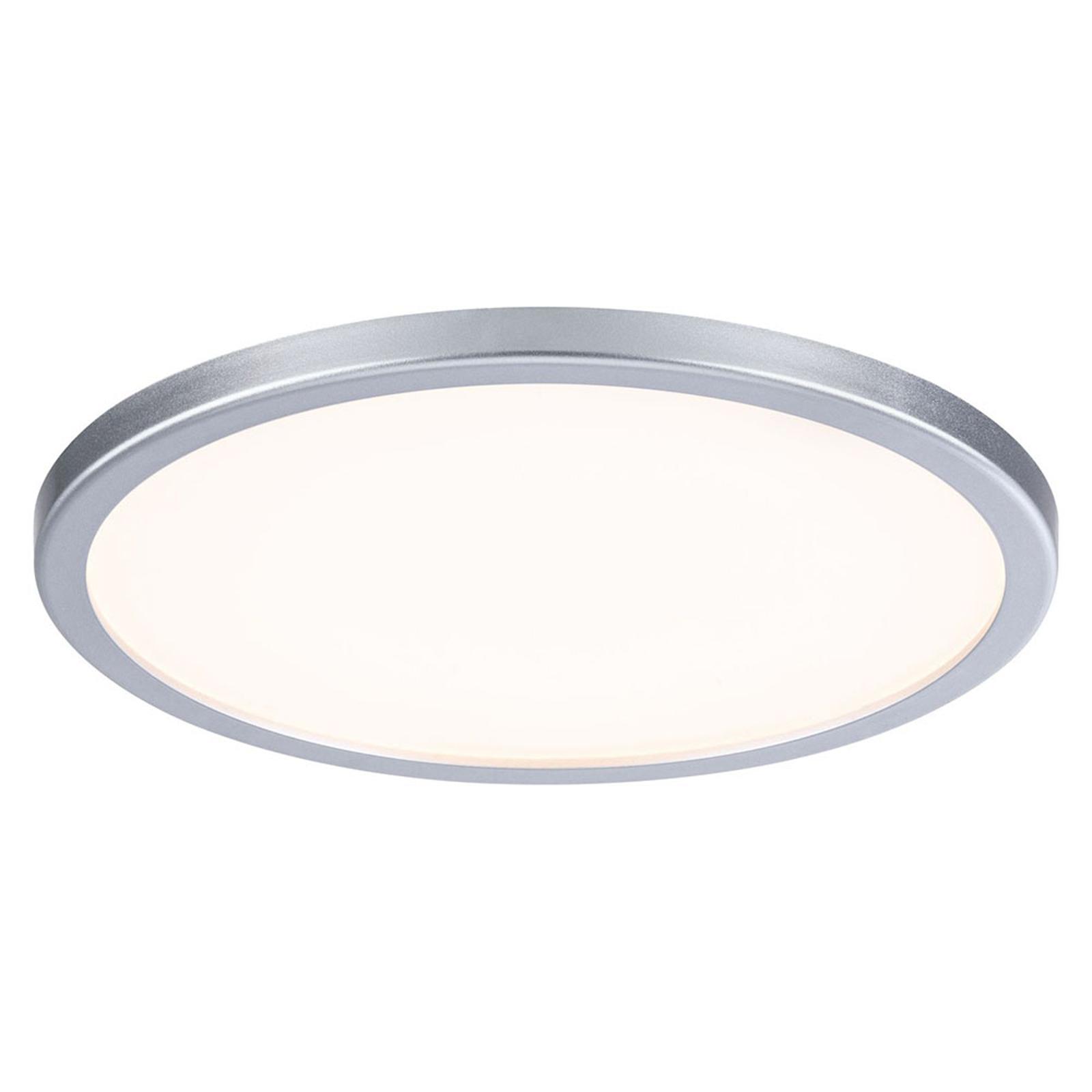 Paulmann LED-Panel Areo 3.000K rund chrom 17,5cm