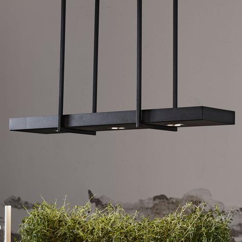 Fiffig LED-hengelampe Tray i svart