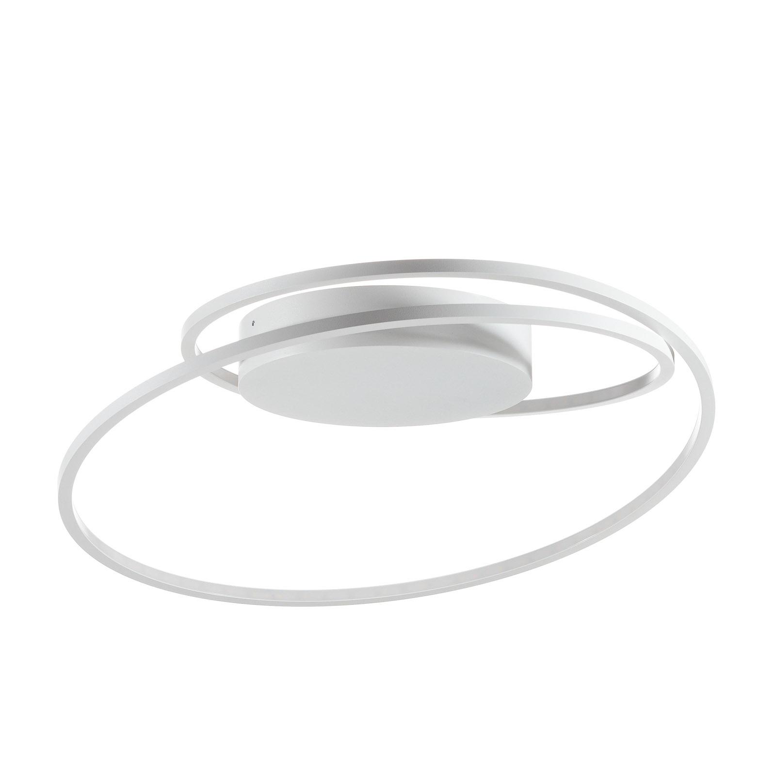 At - en enestående LED-loftslampe i hvid