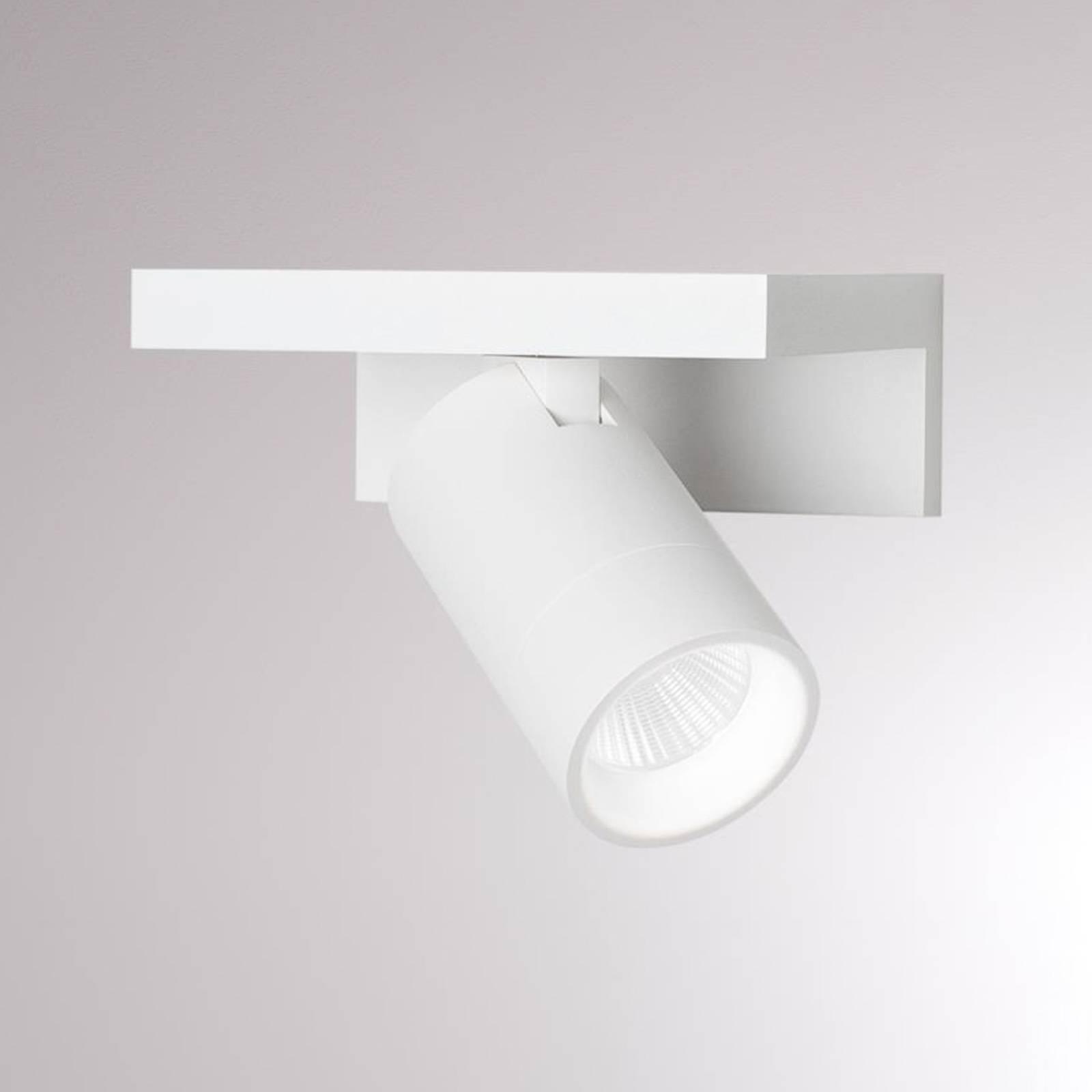LOUM Nowenda LED-Wandleuchte mit Ablage, weiß