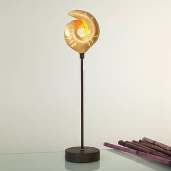 Lampe à poser décorative GAZELLA dorée