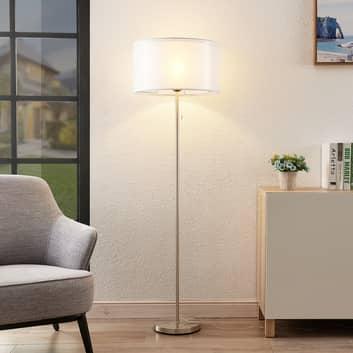 Lindby Taxima lámpara de pie, blanco