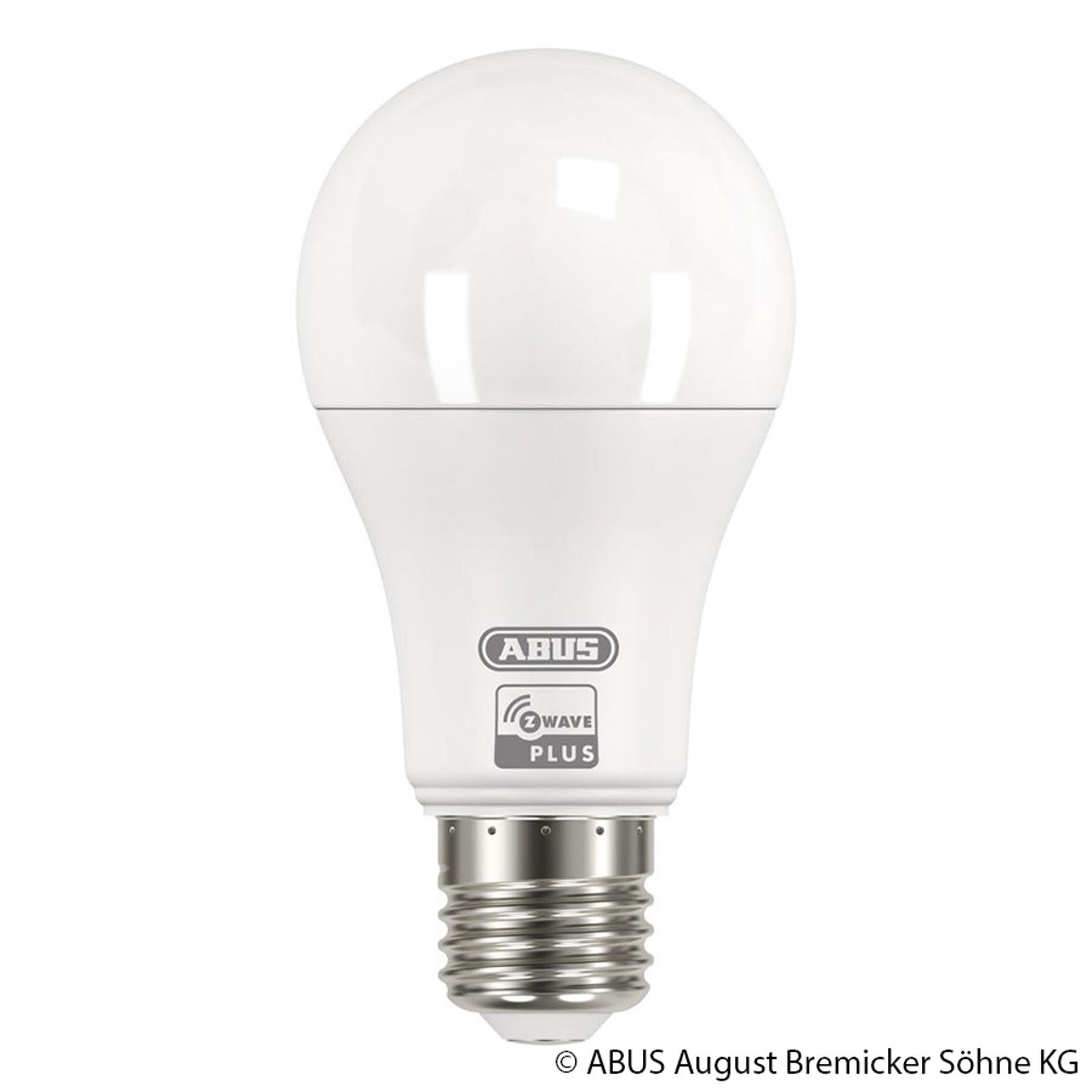 ABUS Z-Wave E27 9 W LED-lampa, varmvit