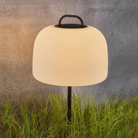 LED-Erdspießleuchte Kettle mit Schirm
