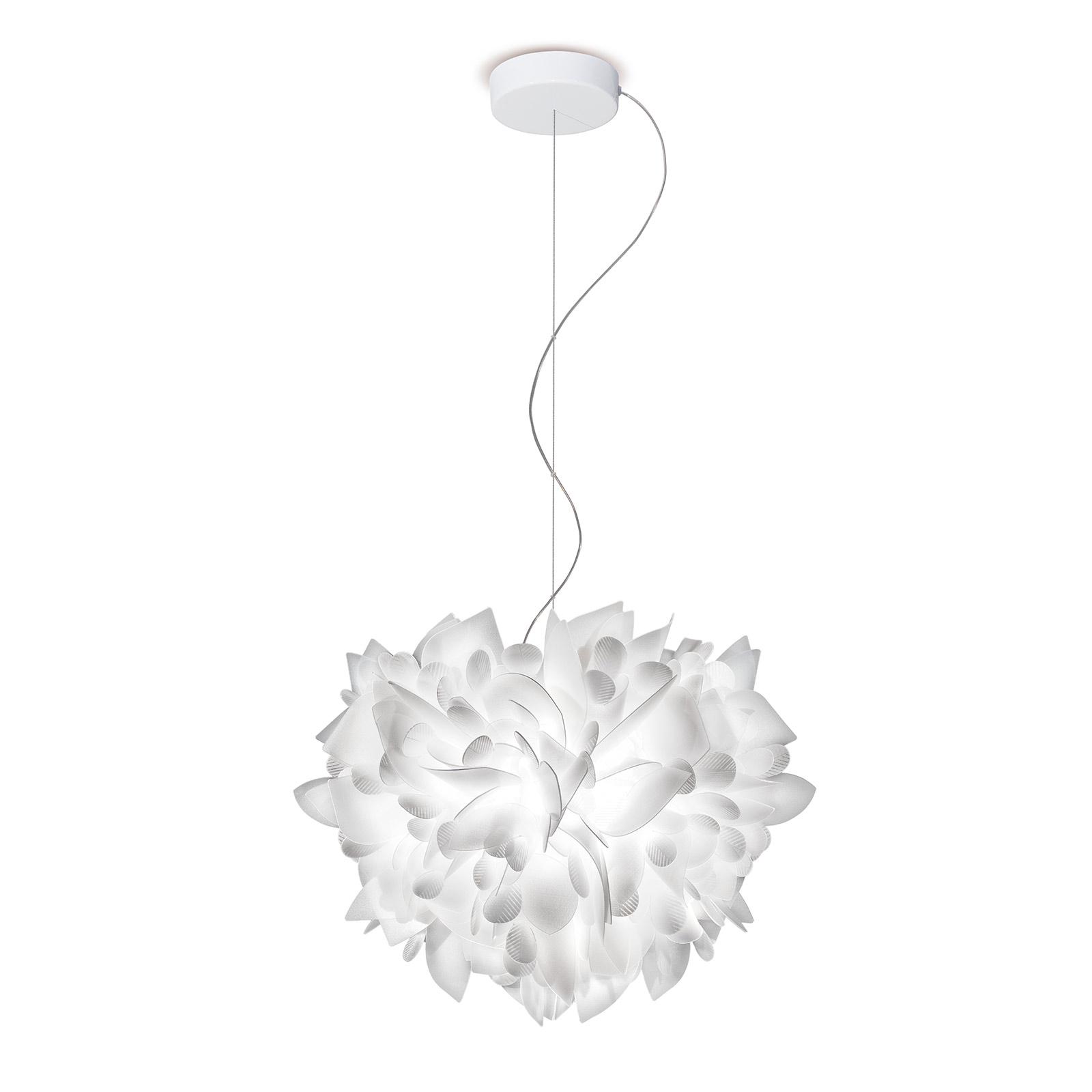 Slamp Veli Foliage závěsné světlo bílé Ø 55cm