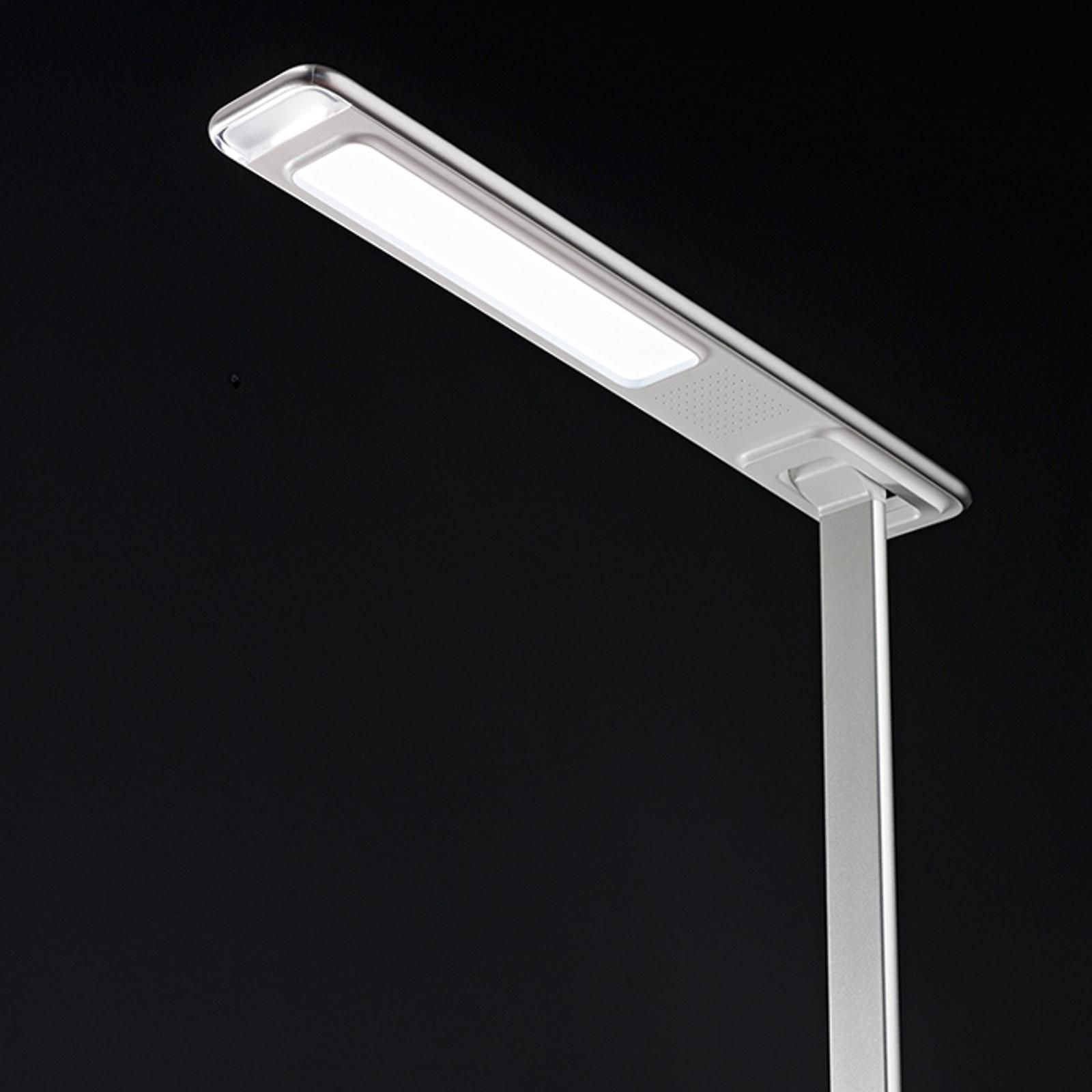 Lampe de bureau LED Ivo, recharge inductive