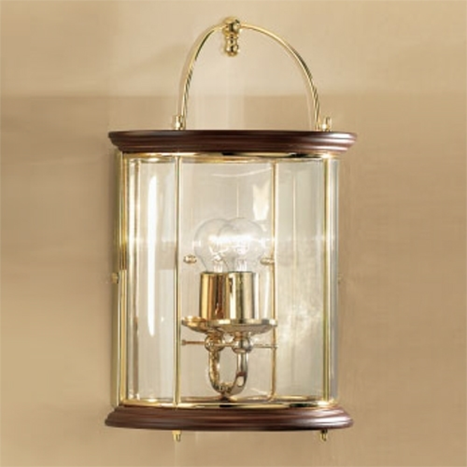 Stylowa lampa ścienna Grazie